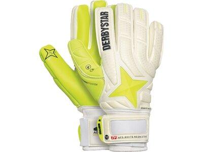 DERBYSTAR Herren Handschuhe APS White Neon Star Weiß
