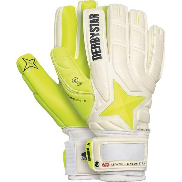DERBYSTAR Herren Handschuhe APS White Neon Star
