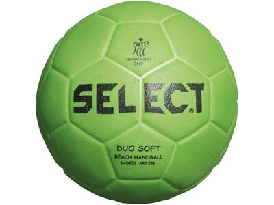 SELECT Ball Handball Duo Soft Beach Grün