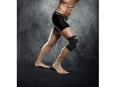 SELECT Kniebandage mit Kniescheibenst Schwarz