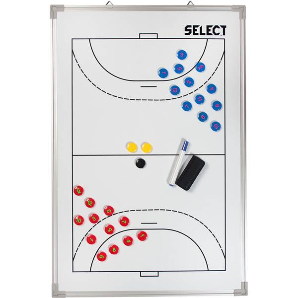 SELECT Taktiktafel Aluminium Handball