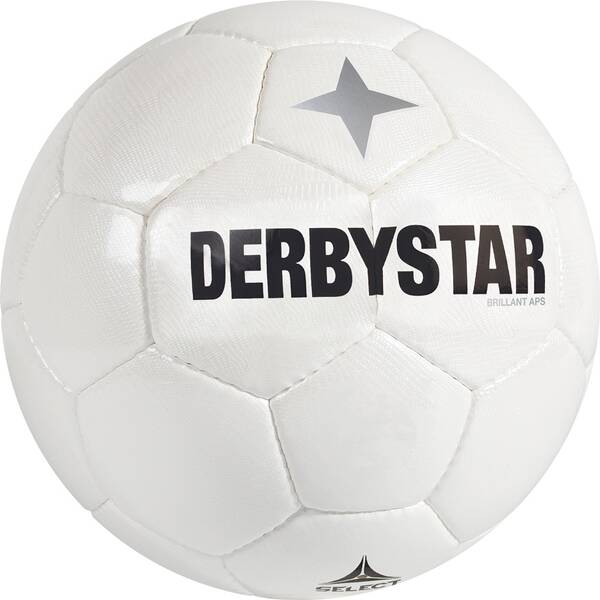 DERBYSTAR Ball Brillant APS Weiß