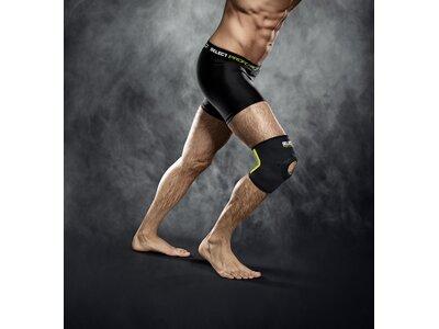 SELECT Kniebandage mit Kniescheibenst Grau