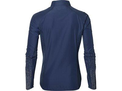 ASICS Damen Lite-show Jacket Blau