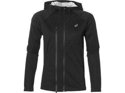 ASICS Damen Laufjacke Accelerate Jacket Grau