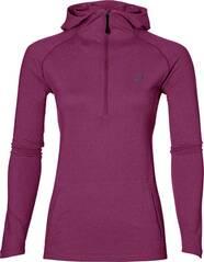 ASICS Damen Laufshirt / Sweatshirt LS Hoodie Langarm