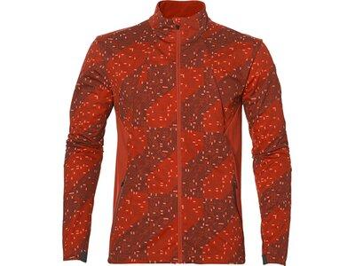 ASICS Herren Laufjacke Lite-Show Winter Jacket Rot