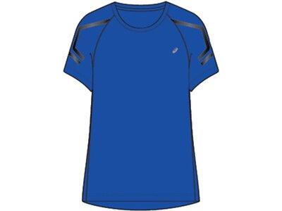 "ASICS Damen Laufshirt ""Icon"" Kurzarm Blau"