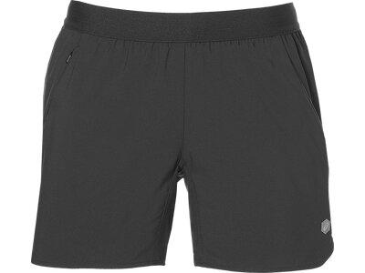 ASICS Damen Shorts 5,5 SHORT Grau