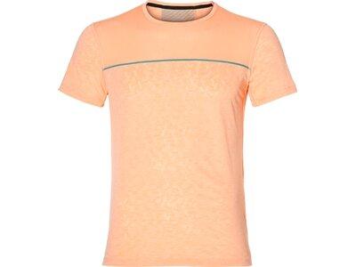 """ASICS Herren Laufshirt """"Gel-Cool"""" Kurzarm Orange"""