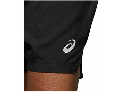 "ASICS Herren Laufsport Shorts ""Silver"" Braun"