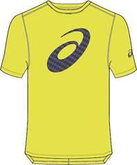 ASICS Herren T-Shirt SILVER GRAPHIC SS TOP #3