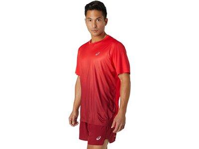 ASICS Herren T-Shirt KASANE Rot