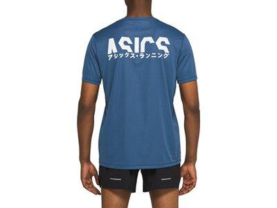 ASICS Running - Textil - T-Shirts Katakana Top Running Blau
