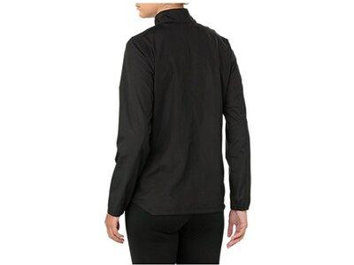 """ASICS Damen Shirt Langarm """"Silver Jacket"""" Schwarz"""