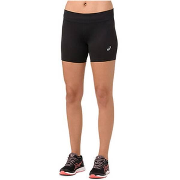 Hosen - ASICS Running Textil Hosen kurz Silver 5IN Sprinter Short Running Damen › Braun  - Onlineshop Intersport