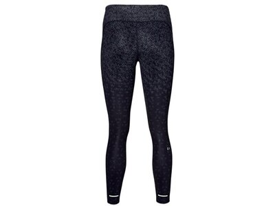 ASICS Damen Lauftights CROP TIGHT PRINT Schwarz