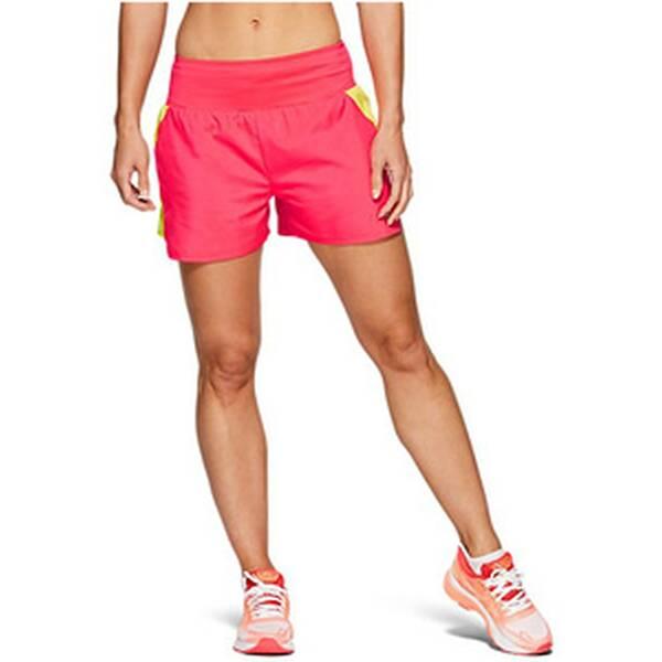 Hosen - ASICS Damen Laufshorts 3.5IN SHORT › Braun  - Onlineshop Intersport
