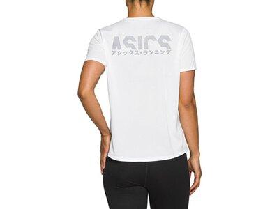 """ASICS Damen Laufshirt """"Katakana SS Top"""" Weiß"""