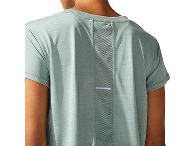 ASICS Damen T-Shirt SAKURA SS CROP Grau