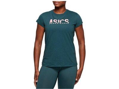 ASICS Running - Textil - T-Shirts Katakana Graphic T-Shirt Damen Grau
