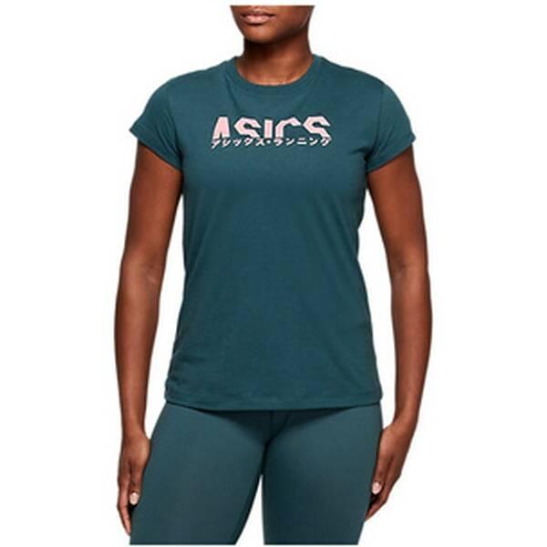 ASICS Running - Textil - T-Shirts Katakana Graphic T-Shirt  Damen