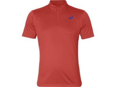 ASICS Herren Poloshirt CLUB POLO-SHIRT Rot
