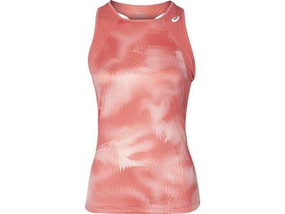 ASICS Damen Tanktop CLUB GRAPHIC TANK Pink