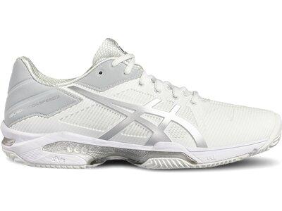 """ASICS Damen Tennisschuhe """"Gel-Solution Speed 3"""" Grau"""