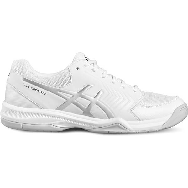 ASICS Herren Tennisschuhe GEL-DEDICATE 5 | Schuhe > Sportschuhe > Tennisschuhe | White - Silver | ASICS
