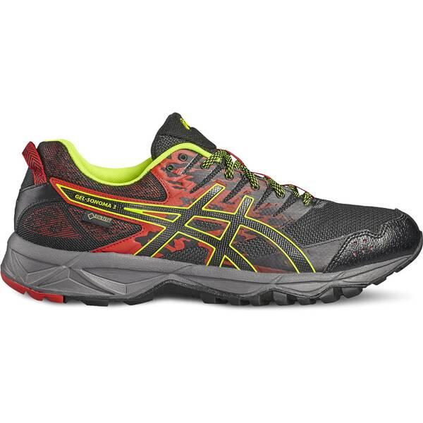 ASICS Herren Trailrunning-Schuhe GEL-SONOMA 3 G-TX Grau