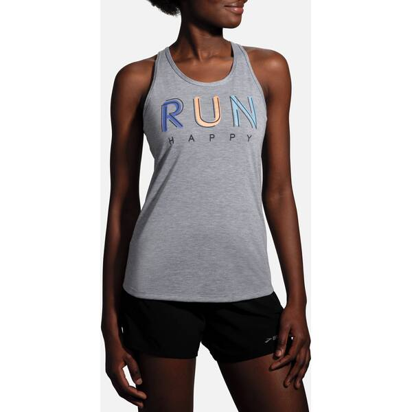 BROOKS Damen Distance Graphic Tank