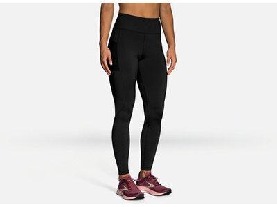 "BROOKS Damen Leggings ""Momentum Thermal Tight"" Schwarz"