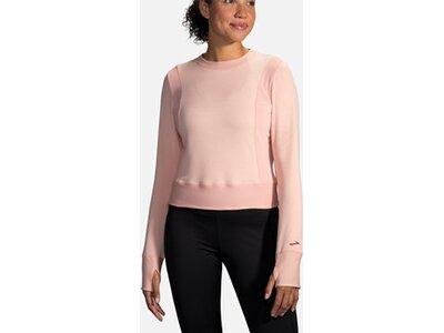 "BROOKS Damen Laufshirt ""Notch Thermal Long Sleeve"" Pink"