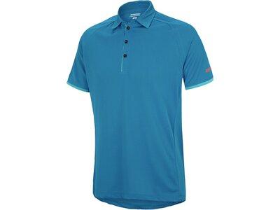 ZIENER Herren Poloshirt CALE Blau