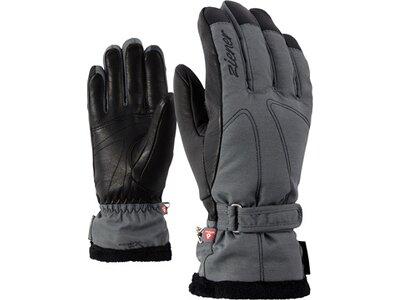 ZIENER Damen Skihandschuhe KALANA GTX(R) +Gore warm PR Grau