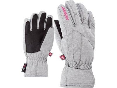 ZIENER Kinder Handschuhe LATI AS(R) PR Silber