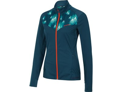 ZIENER Damen Multisport Jacke NARIT Blau