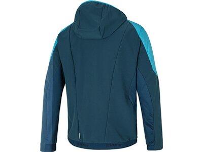 ZIENER Herren Multisport Jacke NATALINO Blau