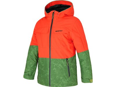 ZIENER Kinder Skijacke ALISO Grün