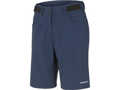 ZIENER Damen Shorts PIRKA X-FUNCTION Blau