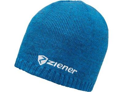 ZIENER Herren IRUNO Mütze Blau