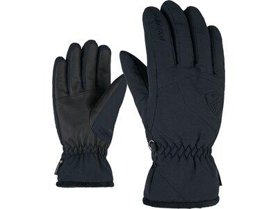 ZIENER Damen Handschuhe KARRI GTX lady glove Schwarz