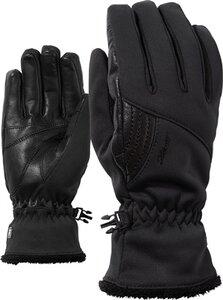 35 Cm 1 Para Mode Winter Arm Wärmer Frauen Warme Handschuhe Finger Schwarz & Grau Schwarz & Weiß Gestrickte Lange Handschuhe Baumwolle Länge Damen-accessoires Armstulpen