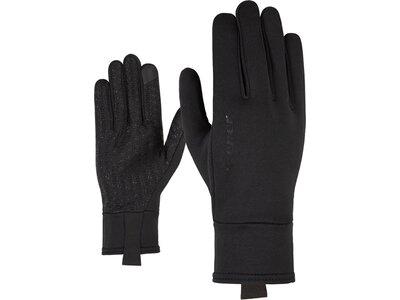 ZIENER Herren Handschuhe ISANTO TOUCH glove multisport Schwarz