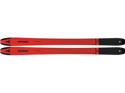 ATOMIC Alpin Ski BACKLAND 78 UL Rot