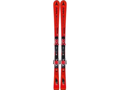 ATOMIC Herren Racing Ski REDSTER S9 + X 12 TL Schwarz