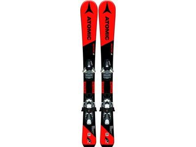 ATOMIC Herren Racing Ski REDSTER J2 70-90 + C 5 SR Schwarz