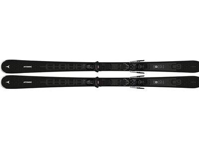 ATOMIC Damen Ski CLOUD 9 + M 10 GW Schwarz