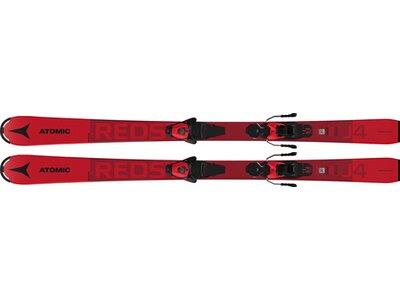 ATOMIC Kinder All-Mountain Ski REDSTER J4 + L 6 GW Red Rot